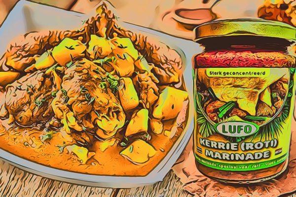 Kerrie Kip Recept met Surinaamse Marinades