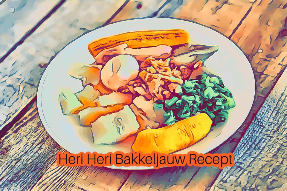 Bakkeljauw Recept